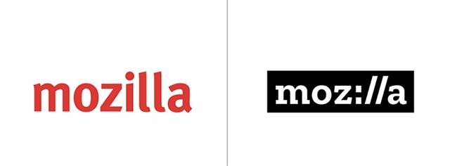 mozilla logo redesign