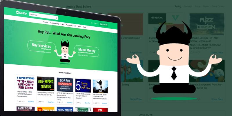 konker social media platform web development