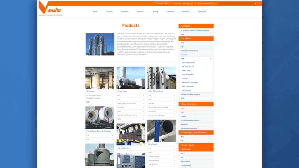 Industrial Website slider02