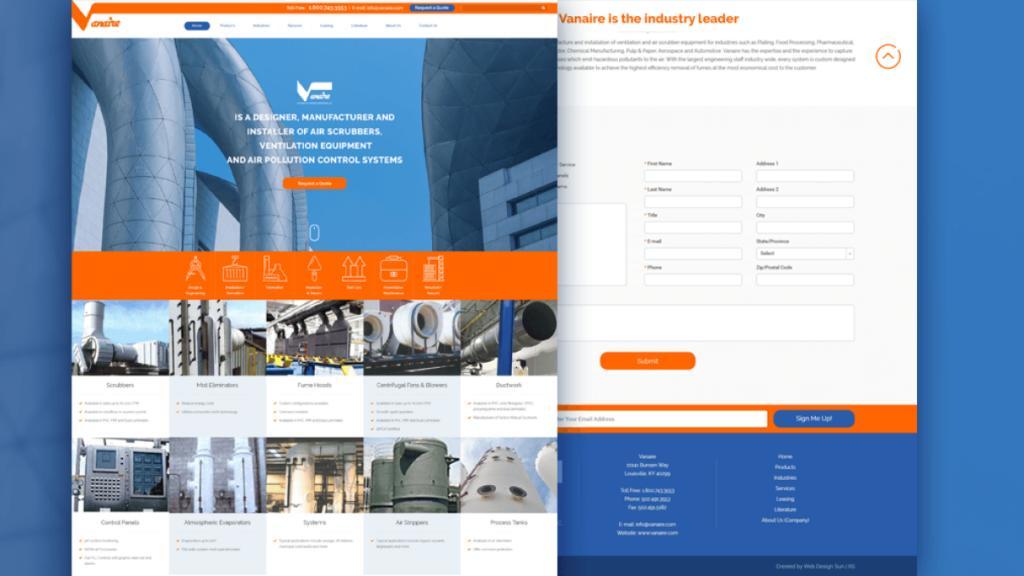 Industrial Website slider03