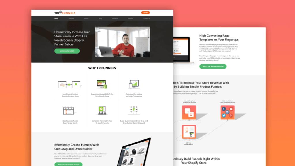 Shopify Funnel Builder slider3
